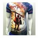 Mens Casual Polyester T Shirt