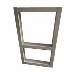 White Aluminium Door Frame, Size/Dimension: 2.5 X 7 Feet