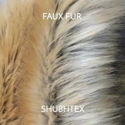 Multicolor Fur Fabric for Fur Carpet, Rug