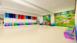 2-3 Month Play School Interior Designing Service
