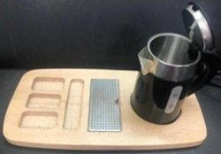 Electric Kettle Tray Set 0.6L