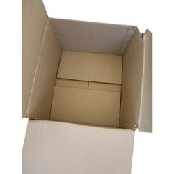 Double Wall - 5 Ply Rectangle Corrugated Shipping Box, For Apparel, Box Capacity: 13kg
