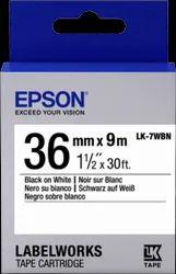 Epson LK-7WBN Tape