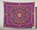Multicolor Embroidered Suzani Bedsheet Meera Handicrafts