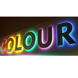 Rectangular Acrylic LED Sign Board