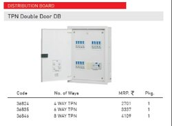 Tpn Double Door Db-Distribution Board - Anchor By Panasonic