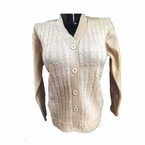 V Neck Ladies Sweater