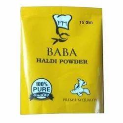 500 Gm Haldi Powder Packet