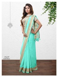 Embroidery Designer Party Wear Saree