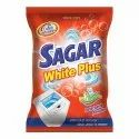 Sagar White Plus Detergent Powder For Laundry, Packaging Type: Packet