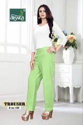 Alishka Fashion Trouser Colorful Pant Catalog