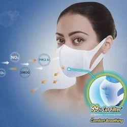 Ear loop PP Non Woven Polluguard Disposable Face Mask (Medium) (Set of 50) - Unicharm