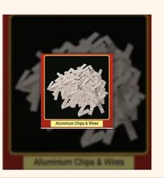 Silver Aluminum Chips