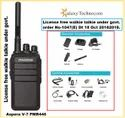 Aspera V-7 PMR446 License Free Walkie Talkie