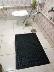 Bathroom Floor Mat (Anti Skid & Cushioning)