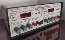 DC Regulated Dual Channel Power Supply, ML 302D