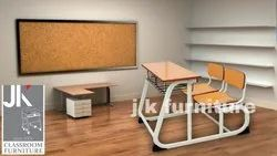 Bench and Desk for School