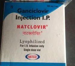 Ganciclovir 500 Mg Natclovir, NATCO, Treatment: Anti Cancer