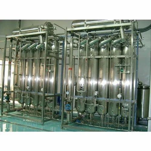 Commercial Waste Water Water Distillation Plant, Capacity: 2000 Litres Per Hour