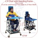 CP Chair with Standing Frame