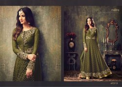 Designer Embroidery Gown