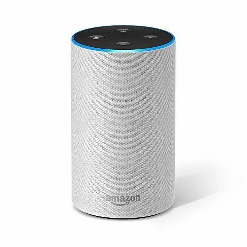 Amazon Echo Smart Speaker With Alexa Powered By Dolby White