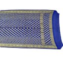 All Over Blue Color Fancy Banarasi Georgette Bandhani Dupatta