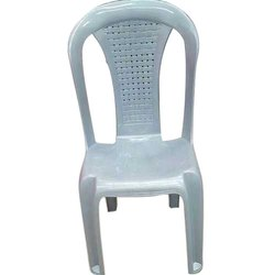 Without Hand Rest (Without Arms) Plastic Chair