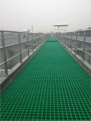 Moulded Fibre Glass Floor Grating