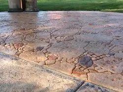 Garden Stone Stamped Concrete