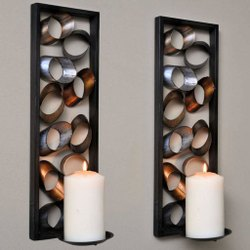 Anchor Wall mounted candle holder, For Decoration, Model Name/Number: rsich005564