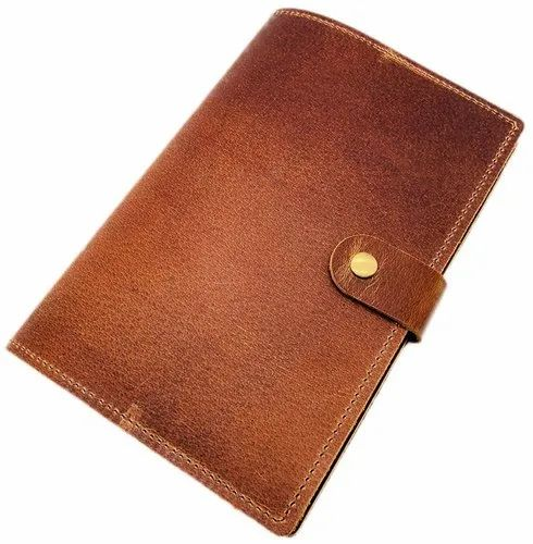 Refillable Leather Journal And Sketchbook
