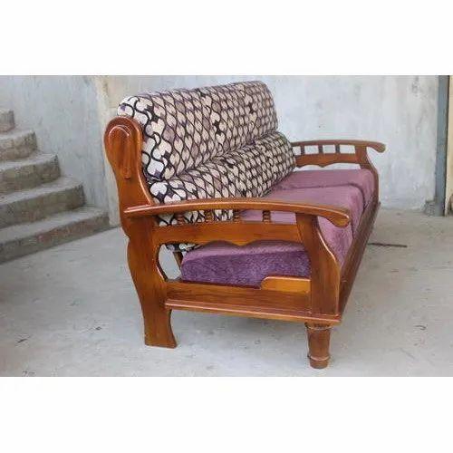 Teak Wood Sofa Set At Rs 35000 Unit Kodungaiyur Chennai Id 19341012062