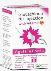 Agefine Forte Injection (Glutathione)