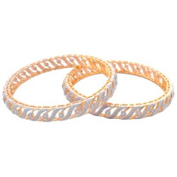 Traditional Bollywood Style American Gold Plated Bangles