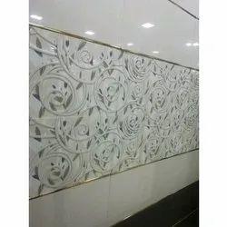 Moto Designer Ceramic Wall Tile, Size: 18*12 Inch, 6 Pc