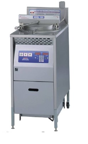 Gas Pressure Fryer With Filter