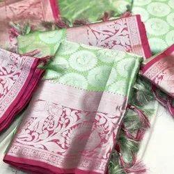 Kora Muslin Weaving Sari