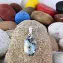 Latest Collection Dendrite Opal Gemstone Women Silver Long Chain Pendant For Necklace