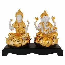 Antique Laxmi Ganesha Statue