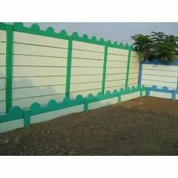 Prestressed Boundary Wall