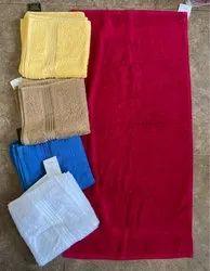 Cotton Plain Gym Towels, Size: 50 X 100 Cms