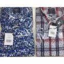 Casual Cotton Men Digital Print Shirts