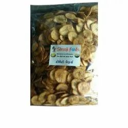 Shreeji Foods Tomato And Banana Chips, Palm Oil, Packaging Type: Packet