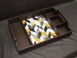 Wooden Serving Tray, For Restaurant, Shape: Rectangle