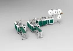 3 Ply Fully Automatic Mask Making Machine With Double Auto Loop