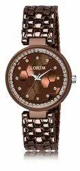 Lorem Women Diamond Bracelet Watch, For Personal Use, Model Name/Number: LR271