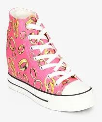 Calrton Women Pink Sneakers Clarence Sale, Size: 3-8
