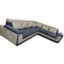 Wooden Modular L Shape Sofa Set