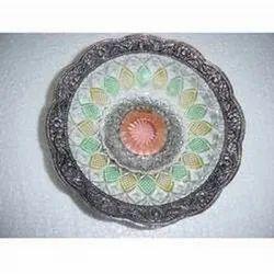 Multicolor Glass Plate